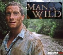 bear grylls man vs. wild discovery channel jungle