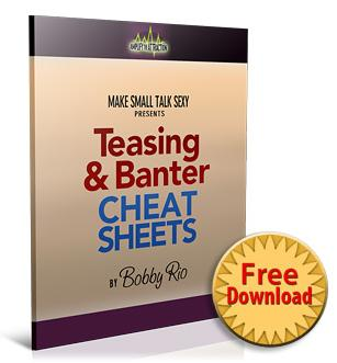 Teasing & Banter Cheat Sheets Report by Bobby Rio