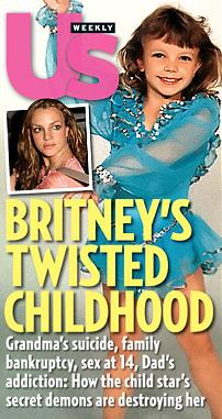Britney Spears lost virginity at age 14