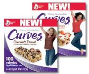 curves granola bars