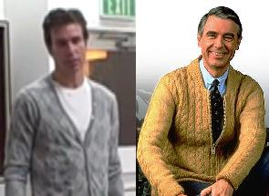 David Wygant and Mister Rogers