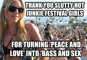 hot music festival girls