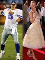 "Jessica ""Yoko"" Simpson and Tony Romo"