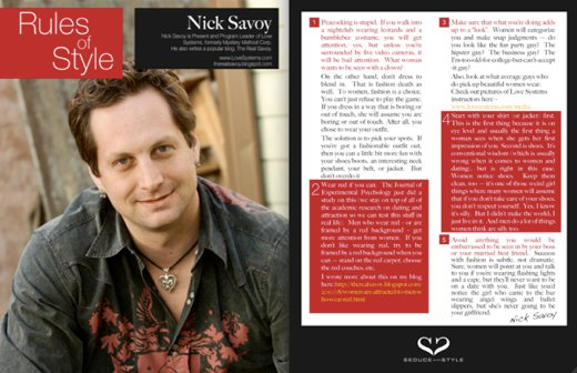 Nick Savoy Profile